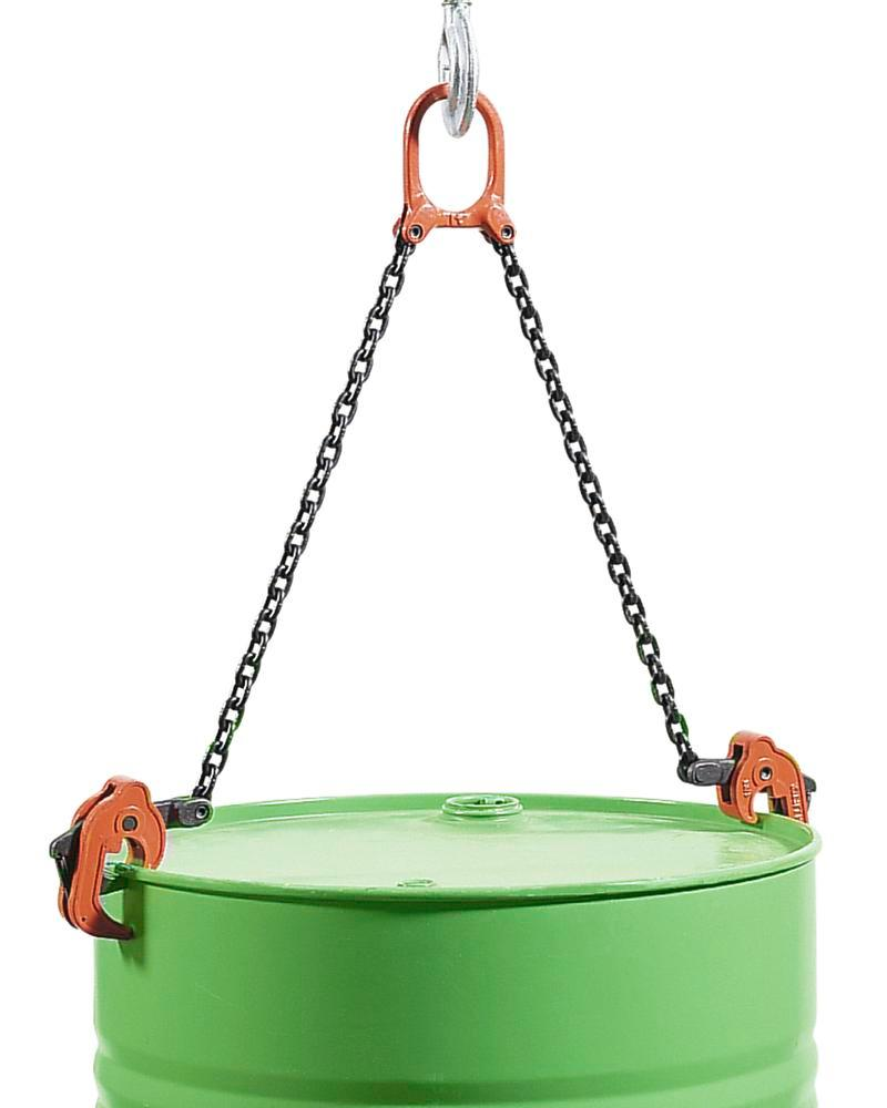Drum lifter FGK suitable for all types of steel drums