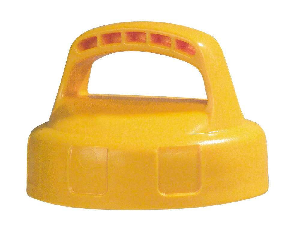 Function lid for liquid container, closed, yellow - 1
