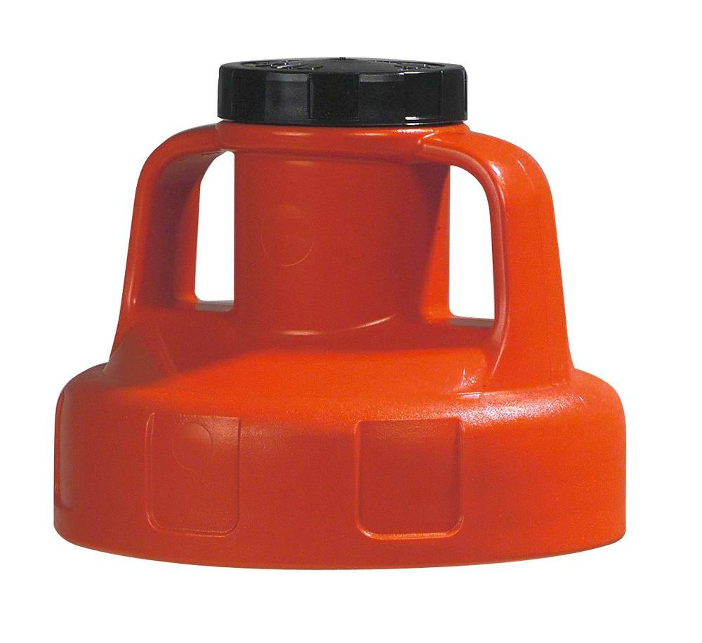 Function lid for liquid container, for pump, red - 1