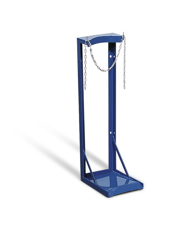 Gas Cylinder Stand, galvanized, for 1 x Ø 230 mm gas cylinders