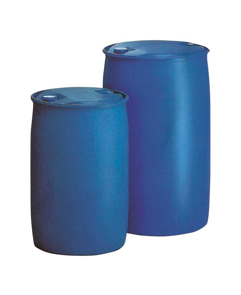 L-ring drum with UN certification, made from Polyethylene (PE), 220 litre volume
