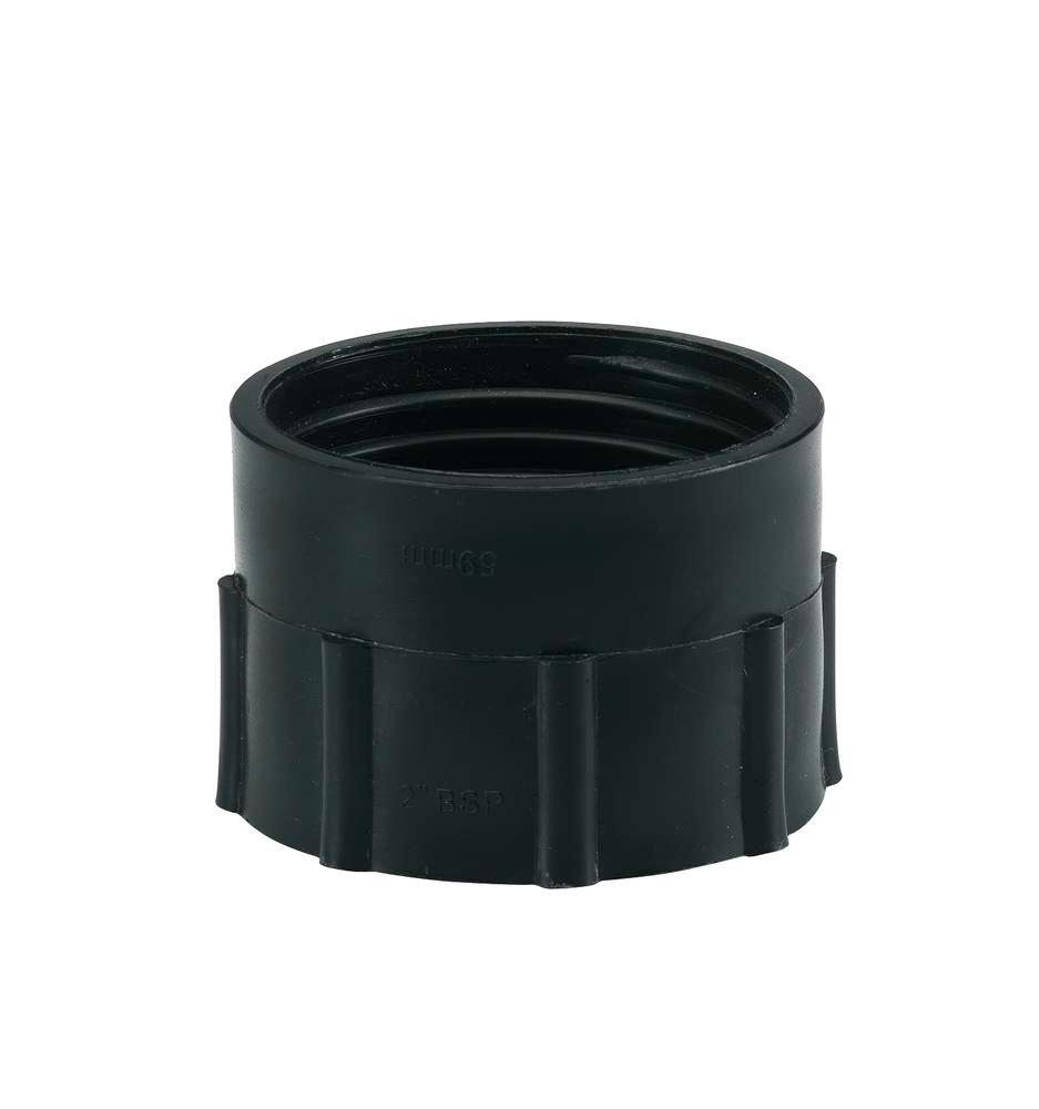 "Special thread adapter SG 1, 2"" fine (I) to DIN 59 (I), black"