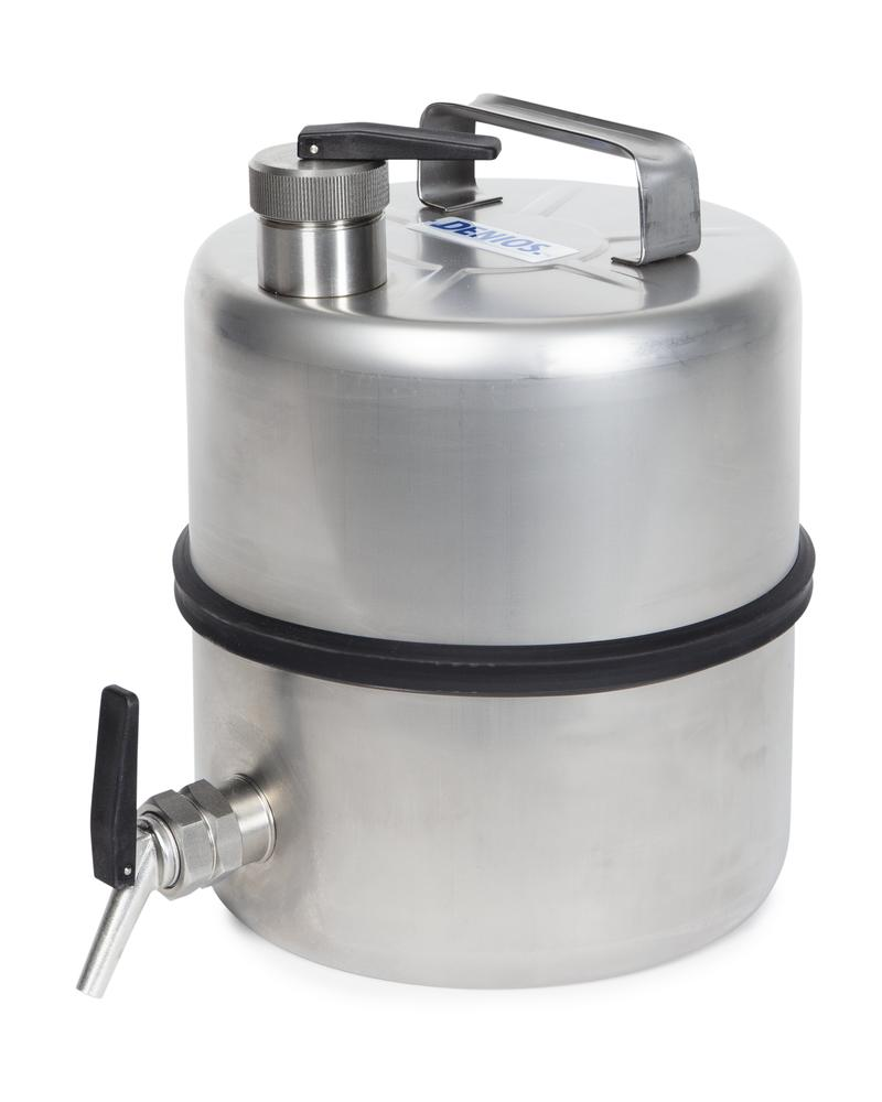Stainless steel container , 10 ltr, tap 3/4