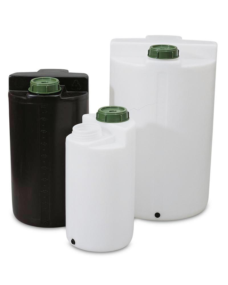 Storage and pouring containers 1000 ltr, black