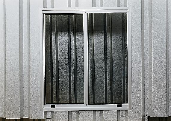 Aluminium sliding window for MC 320, 750X850 mm