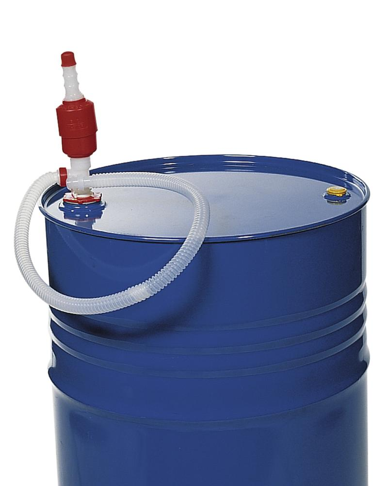 Chemical hand pump made from Polyethylene (PE)