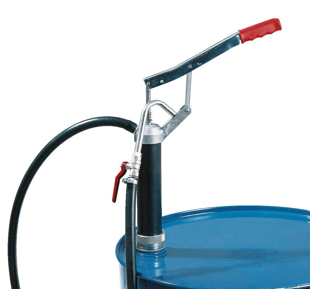 Manual lever pump F 52, for diesel and heating oil, with ball valve