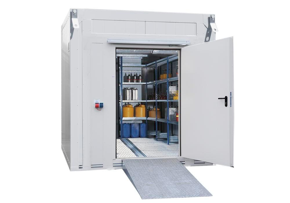 Fire Protection Container BMC-K 480X - T90 - 2 Doors on the short side