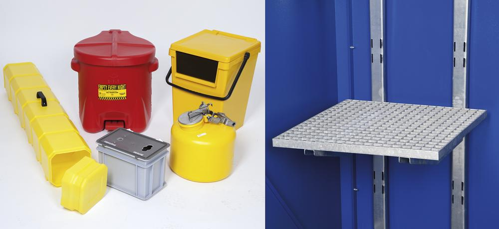 Kit for aggressive substances- S for Smart W-Collect collection depot