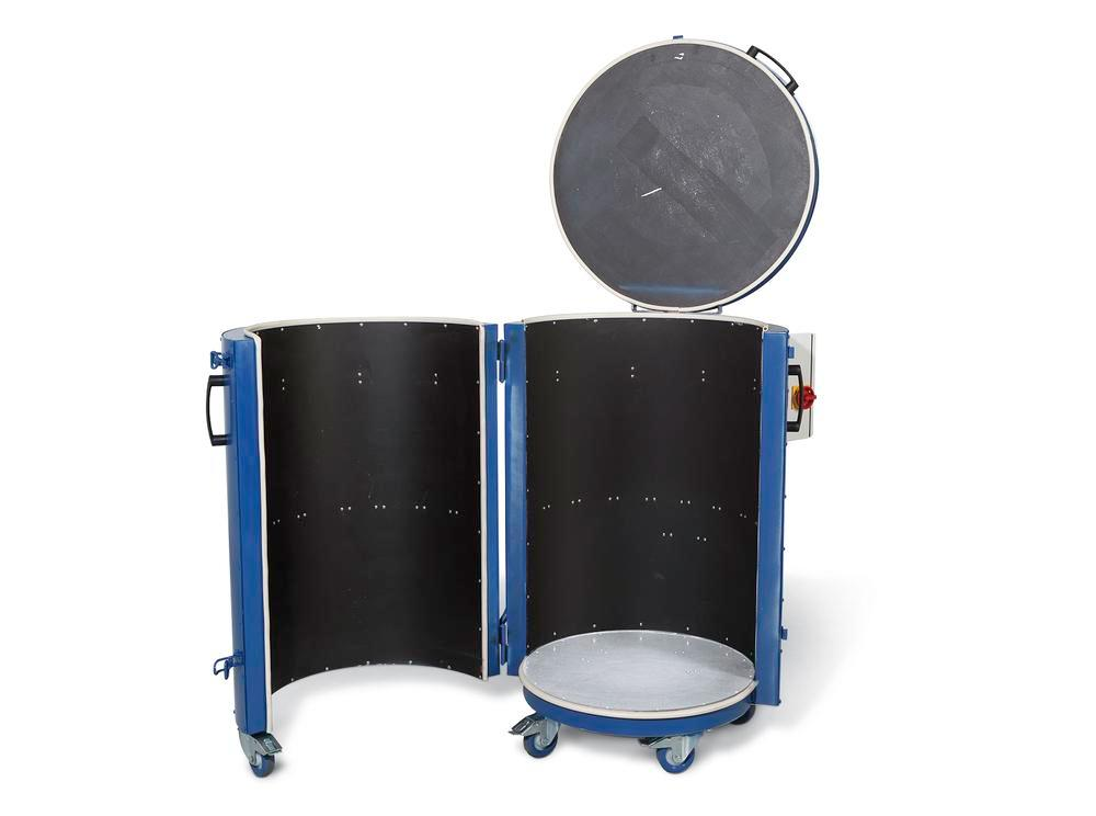 Drum heater type FH-K 5.5, for 200-litre drums
