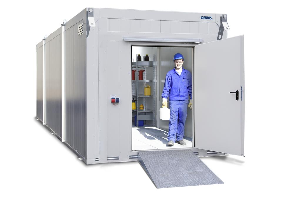 Fire Protection Container BMC-K 840X - T90 - 1 Door on the short side