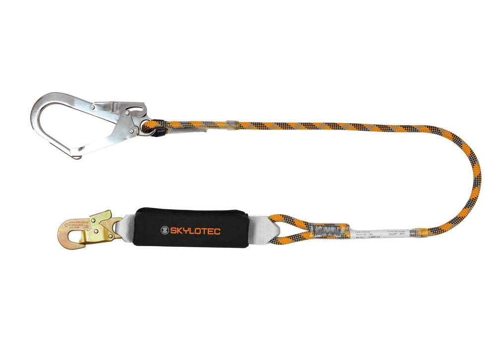 Lanyard with shock absorber, Version B 1.5 m