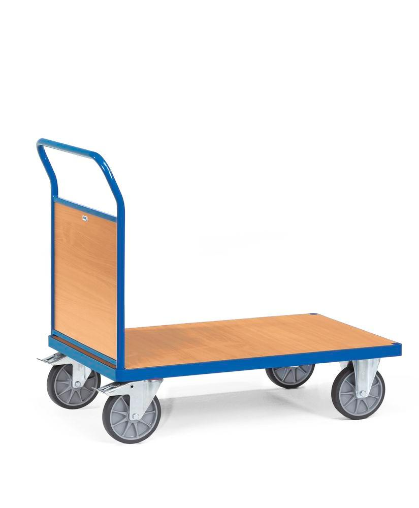 Trolley with wooden panel, model SW 8