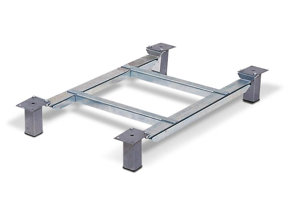 Base frame with 4 feet for container SB 400, UB 400 - 1