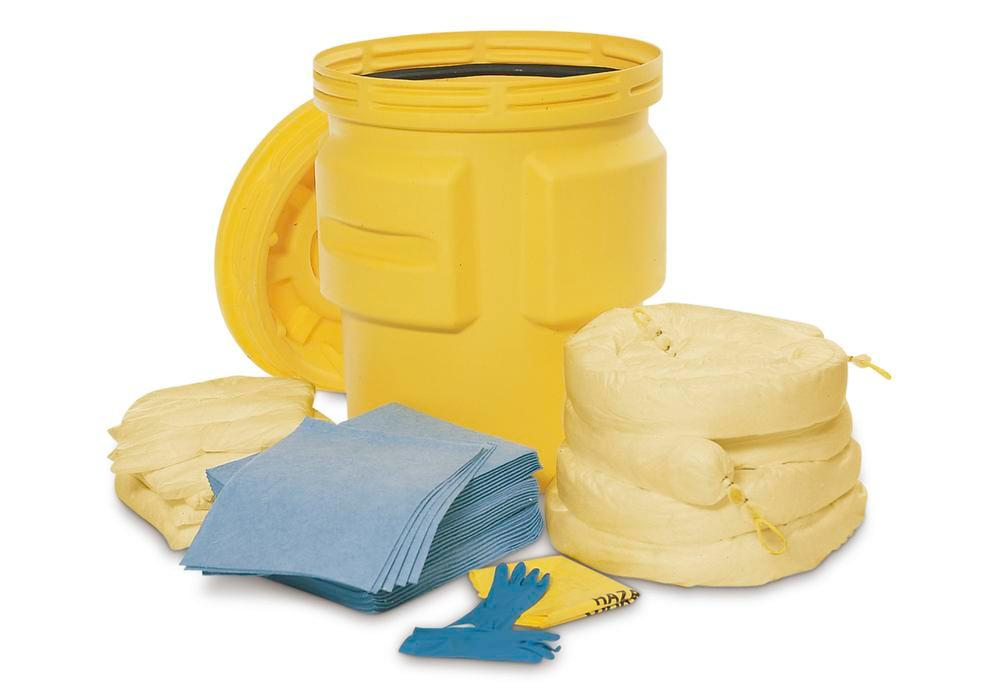 DENSORB Emergency Spill Kit in Drum Type S 200, application SPECIAL
