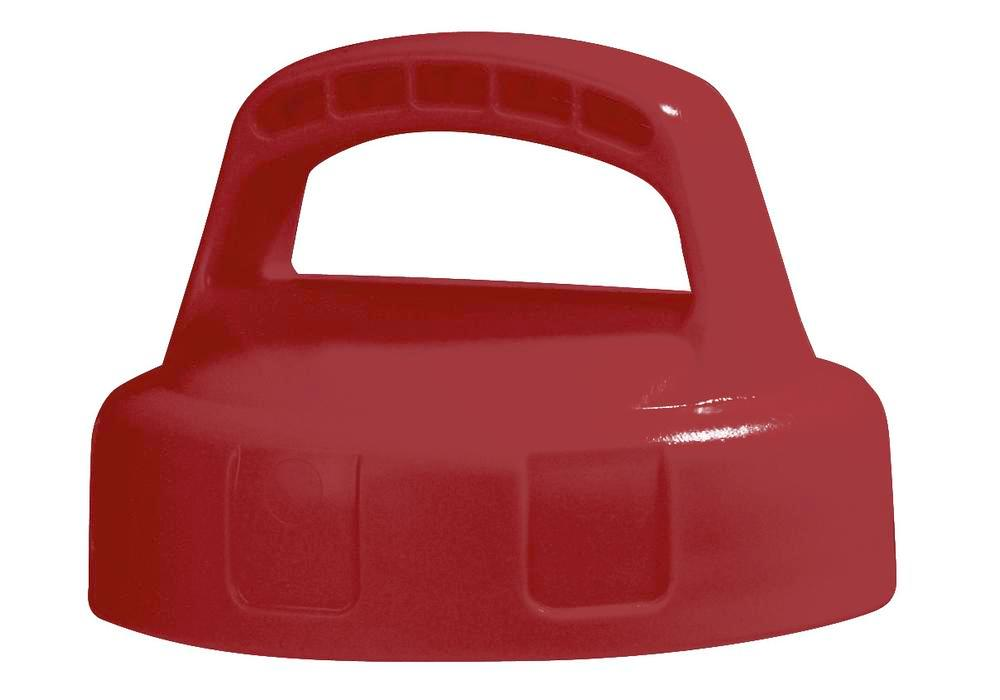 Function lid for liquid container, closed, red - 1