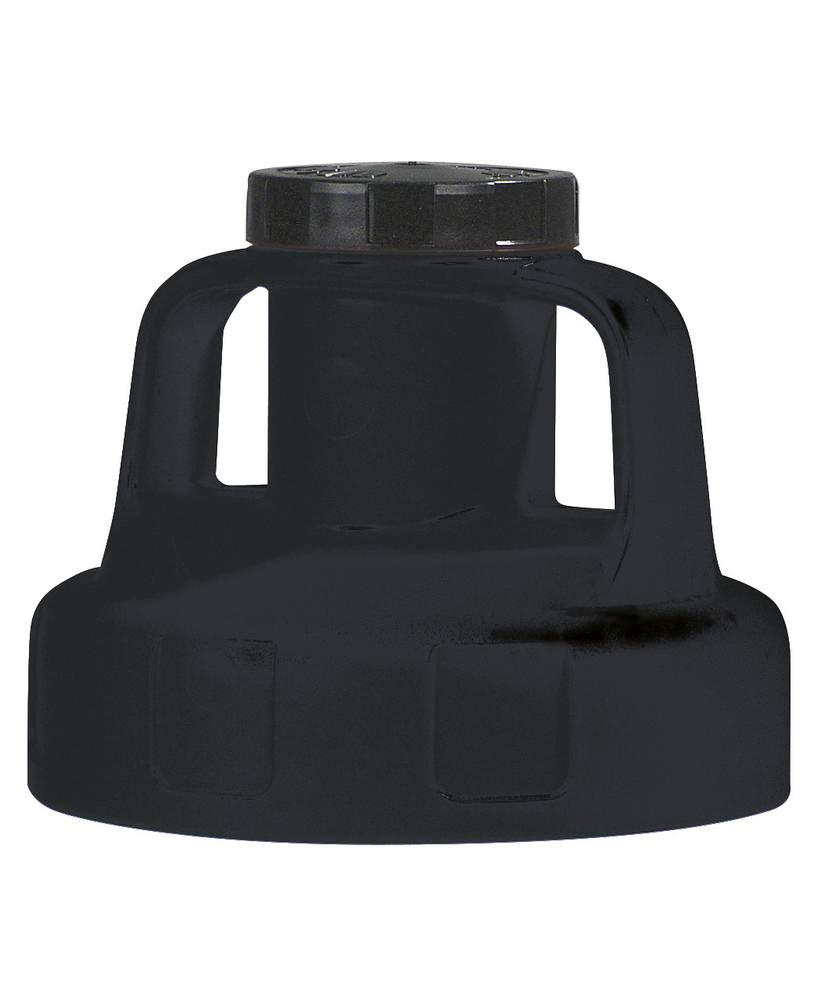 Function lid for liquid container, for pump, black - 1