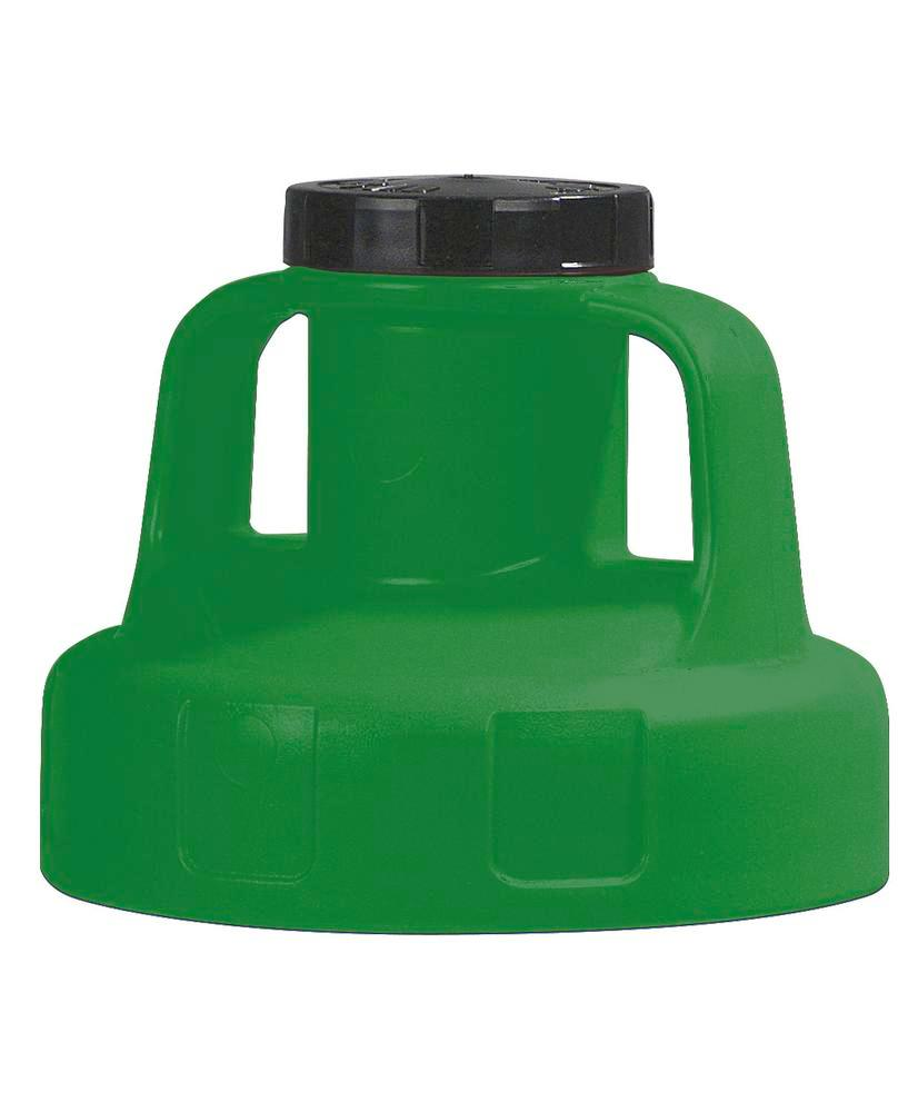 Function lid for liquid container, for pump, green - 1