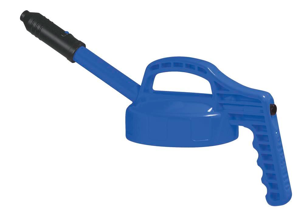 Lid, for dispensers, with Long Spout, Blue - 1