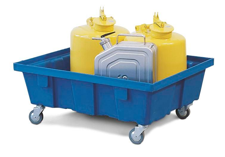 Mobile sump, PolySafe FSR 6.2, manufactured from polyethylene (PE)