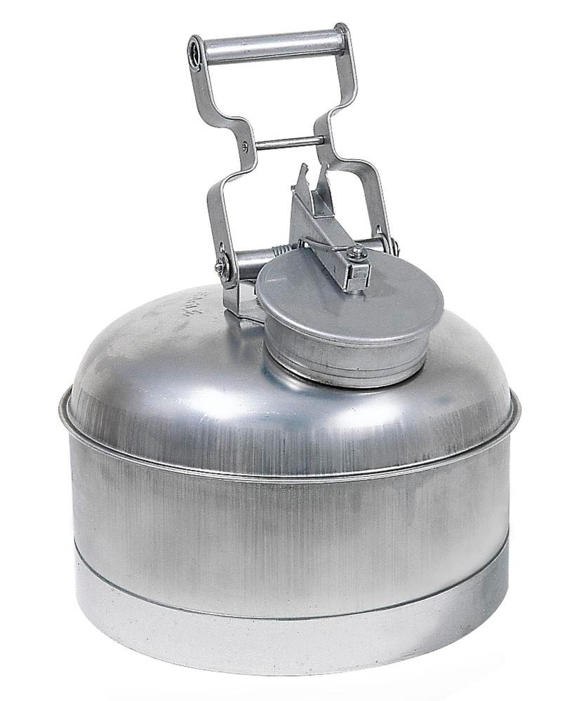 Stainless steel safety containers, FM tested, 10 litre volume