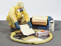 """DENSORB Emergency Spill Kit """"Special"""" for Chemical Accidents - 2"""