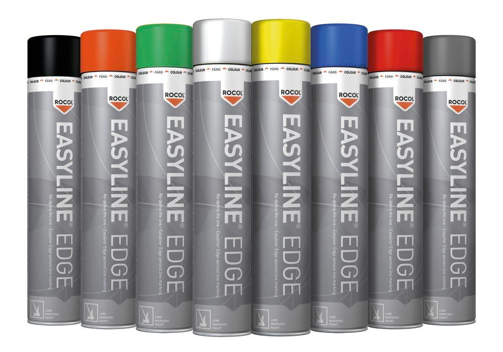 Easyline line marking paint, grey (similar to RAL 7045), 750 ml