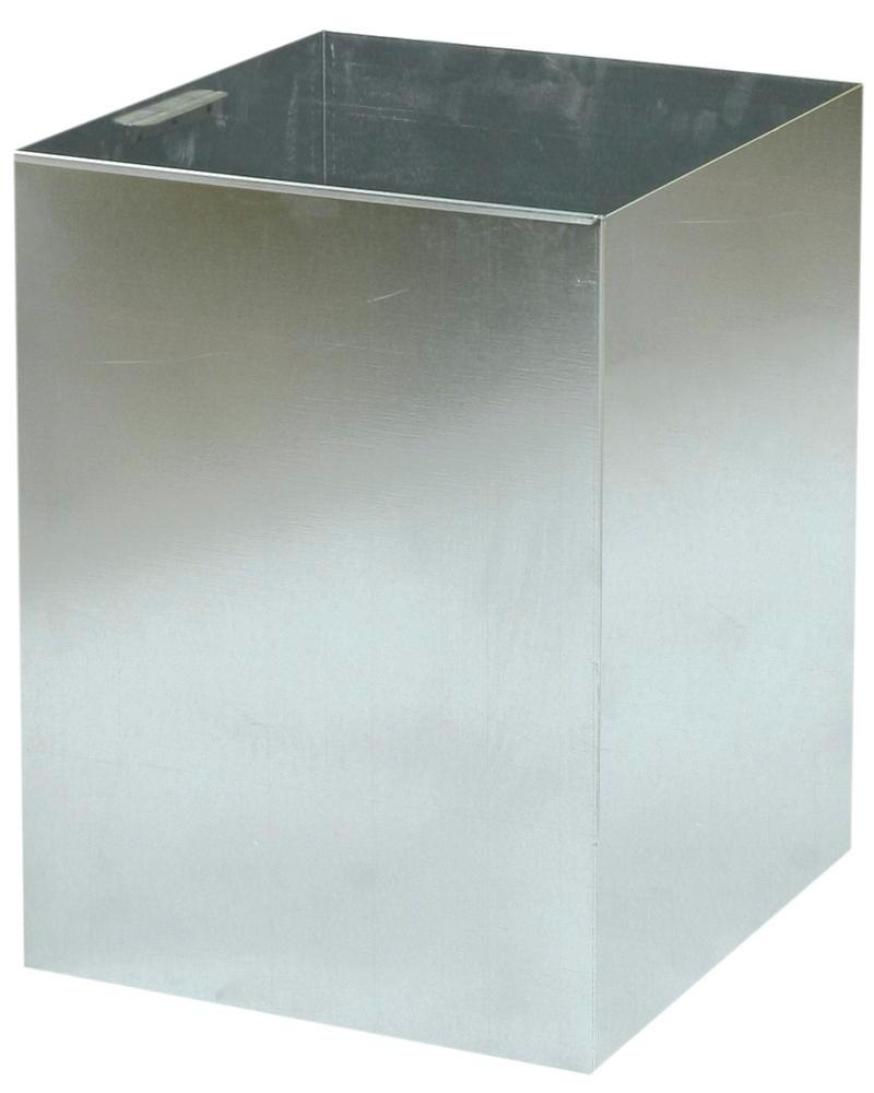 Galvanized inner bin for waste containers AB 100