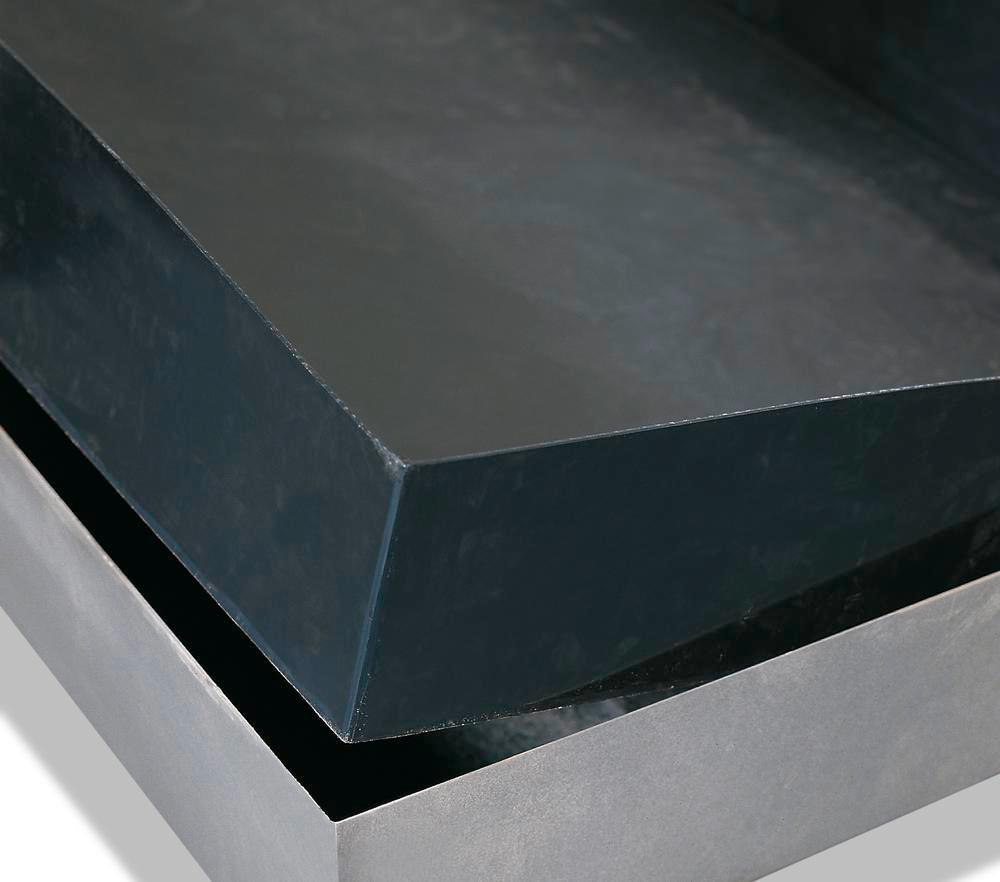Spill pallet insert in polyethylene (PE) for SolidMaxx depot models CH 2.1, CH 2.1-ISO, conductive - 1
