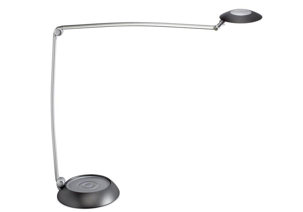 LED work light Metis, dimmable, silver