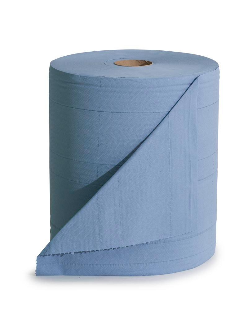 Tough cellulose cloth, 3 ply, 1 roll, blue