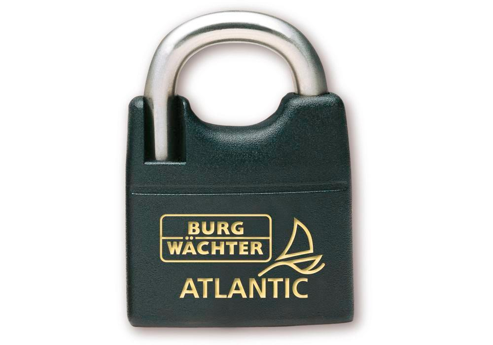 Cylinder padlock Atlantic 217 F 50 Ni, seawater-proof, absolutely rust free - 1