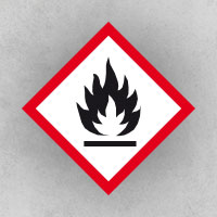 Flammable: Flammable materials or substances liable to self ignite when exposed to water or air (pyrophoric)