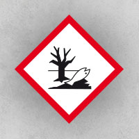 Hazardous to the Environment: Environmentally hazardous substances that can get into soil and groundwater